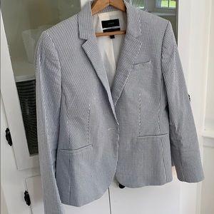 JCrew seersucker blazer